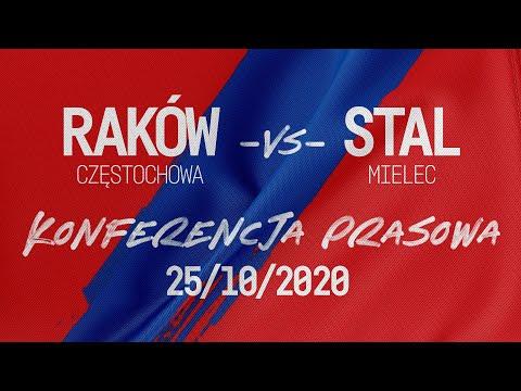 Konferencja po meczu Raków Częstochowa - Stal Mielec