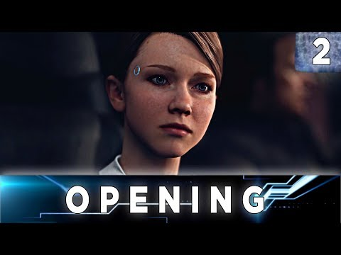 Detroit: Become Human - Walkthrough Chapter 2 - The Opening // All Endings, 100% Flowchart