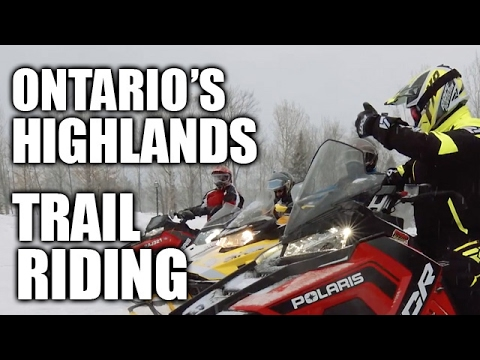Trail Riding In Ontario's Highlands