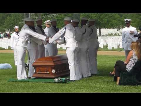 Cemetery - Video is of the burial service for Senior Chief EOD Timothy Johns at Arlington National Cemetery which took place on 15 May 2013.