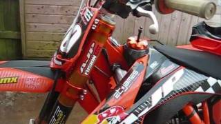 3. factory ktm 250 sx-f walk around