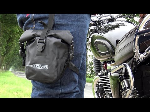 Triumph T120, SOFT MOTORCYCLE LUGGAGE, You didnt know you need!