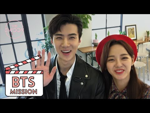 [Behind the Scenes] Sehun and Se-jeong's secret missions with the cast of Busted! Season 2 [ENG SUB]