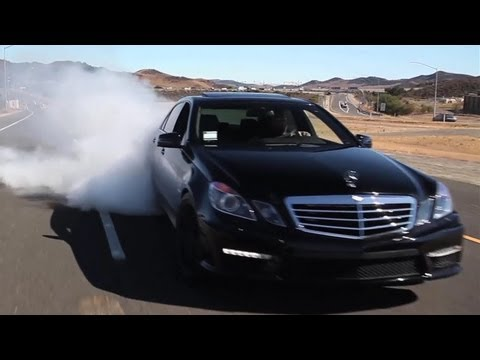 Tuned - Matt Drives the 850 Horsepower E63 on an empty toll road. Can he keep some tire on the car or will this be another episode of rolling burnouts?