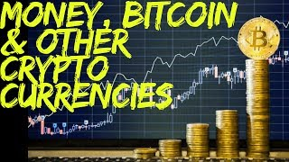 Money,  Bitcoin,  and other Cryptocurrencies - Before Money: Barter System Part 1  http://www.financial-spread-betting.com/academy/bitcoin.html  PLEASE LIKE AND SHARE THIS VIDEO SO WE CAN DO MORE!The history of money: from barter to bitcoin Money,  Bitcoin,  and other Cryptocurrencies.  Invention and Utility of Money. This is a presentation about Money, Bitcoin and other Cryptocurrencies.  First we will look at the historical perspective of money, what happened before money was invented and why money was invented.  We will also look at what qualities makes good money, the different objects that have served as money in the past, how it has evolved throughout history and some of the problems the monetary system has.  We will then look at why Bitcoin was invented and how it works.Before money: Trade through barterProblem: double coincidence of wants  - A doctor cannot produce own food - must find a farmer - farmer must have the  food the doctor wants and require  healthcareMust negotiate rate at which medical care / food are exchanged. He must do this for all other wants e.g.  plumbing  services, clothes, etc.  Saving for the future could get difficult - some goods are perishable and hard to store (e.g.  strawberries) People would be more generalised in their skills and self-sufficient  i.e. you grew your own  crops, kept your own  livestock, built your own home. Using money: Invention of money allowed the benefits of specialisation without difficulty of barter. - Doctor will accept money in return for providing healthcare to the farmer - Others will also accept money for provision of other goods/services - Farmer will accept money in return for providing food Functions of money:- Unit of Account - Identify the value of goods and services (e.g. a car worth £10,000 opposed to 20,000 tons of tuna). - Store of value  a) Hold onto the money and spend it in the future (i.e. savings)  b) Not an option for perishable goods (e.g. strawberries rot over time) - Medium of exchang