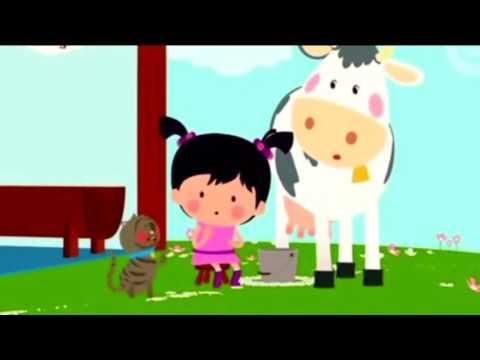 BABY TV LITTLE LOLA Animals Farm for Kids Learn ANIMAL FARM in English ✅ BABYTV Cartoon & Songs