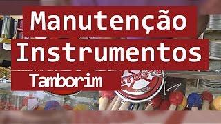 Manutenção de Instrumentos # 02 - Tamborim