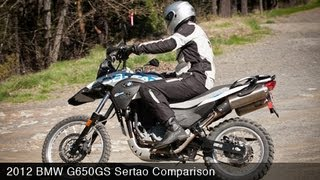 2. MotoUSA Comparison: 2012 BMW G650GS Sertao