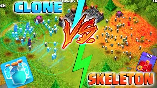 CLONE SPELL VS SKELETON SPELL! - Clash of Clans - New Update S...