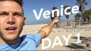 Diego Sechi #NewinLA vlog as he moves and settles in Los Angeles. Here his first day in Venice Beach