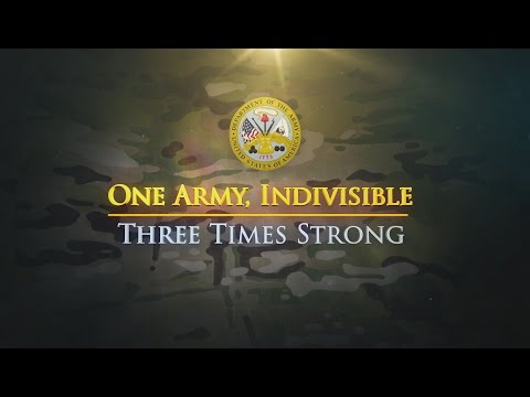 One Army, Indivisible – Three Times Strong Video Screenshot