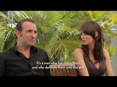 Exclusive interview THE ARTIST with Michel Hazanavicius  Jean Dujardin, Bérénice Bejo