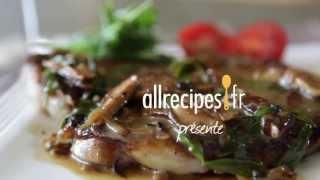 Steak aux champignons shiitake