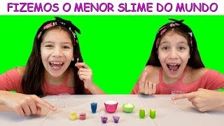 Video O MENOR SLIME DO MUNDO MP3, 3GP, MP4, WEBM, AVI, FLV Februari 2019