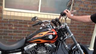 7. harley davidson dyna wide glide review