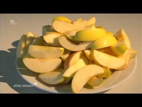 Antioxidantien gegen freie Radikale - ein Test mit Äpfeln