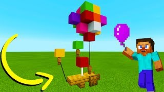 "Minecraft Tutorial: How To Make A Balloon Stand ""2019 City Tutorial"""