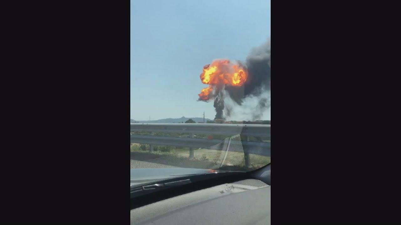 Καραμπόλα με αλυσιδωτές εκρήξεις σε αυτοκινητόδρομο έξω από τη Μπολόνια