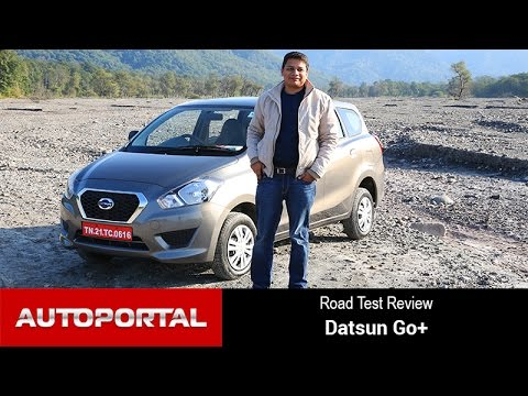 Datsun Go+ Test Drive Review – Autoportal