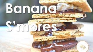 Dark Chocolate Banana S'mores