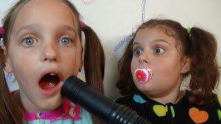 Bad Baby Vacuum Attacks Victoria Annabelle Hidden Egg Babies Bad Baby Black Eye Victoria vs Annabelle & Crybaby Toy Freaks ...