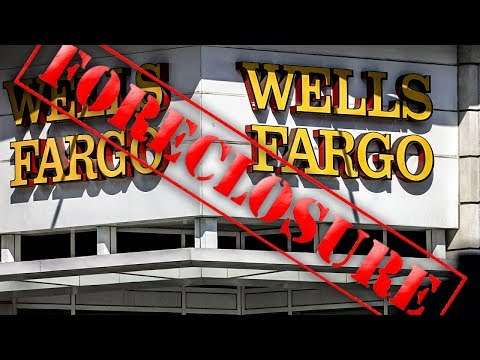 Wells Fargo Blames Computer Glitch For Foreclosures On Poor People