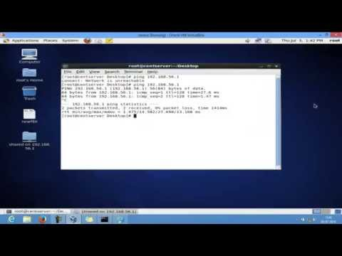 How to access windows shared files from linux