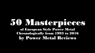 Download Lagu 50 Masterpieces of European Style Power Metal (1993 - 2016) Mp3