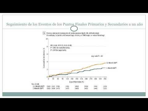 Ensayo clínico randomizado STOPDAPT-2. Dra. Jessica Volpato. Residencia de Cardiología. Hospital C. Argerich. Buenos Aires