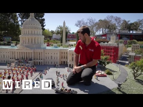 Wired Discovers Hidden Secrets Found Throughout LEGOLAND in