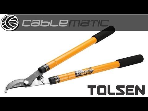 Cizalla de poda con tubo extensible 42-77cm Tolsen® distribuido por CABLEMATIC ®