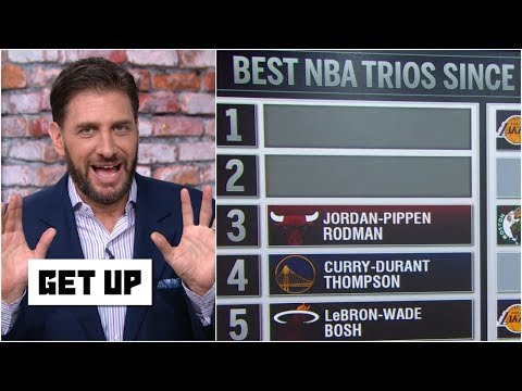 Video: Greeny has issue with Bulls' trio of Jordan, Pippen & Rodman being ranked 3rd best | Get Up