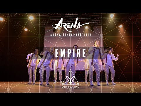 Empire | Arena Singapore 2019 [@VIBRVNCY Front Row 4K] - Thời lượng: 4 phút.
