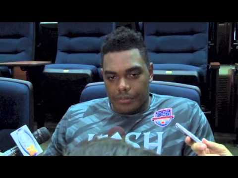 Ronnie Stanley Interview 9/25/2013 video.