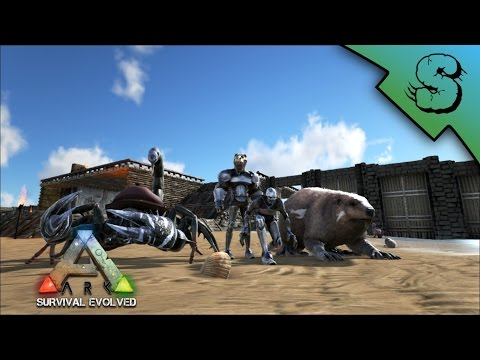 120 Scorpion & 116 Beaver Tames W/SebTG! | Ark: Survival Evolved [E4]