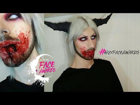 Bloody Demon 💀 NYX ITALIA FACE AWARDS 2016