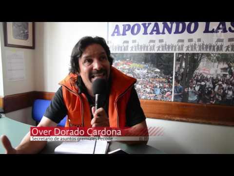 Paro de maestros en Medellín