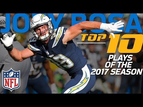 Video: Joey Bosa's Top 10 Plays from the 2017 NFL Season | NFL Highlights
