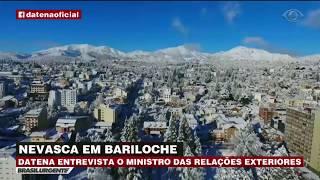 Datena conversou com o ministro das Relações Exteriores a respeito dos quase mil brasileiros que não conseguem retornar ao...