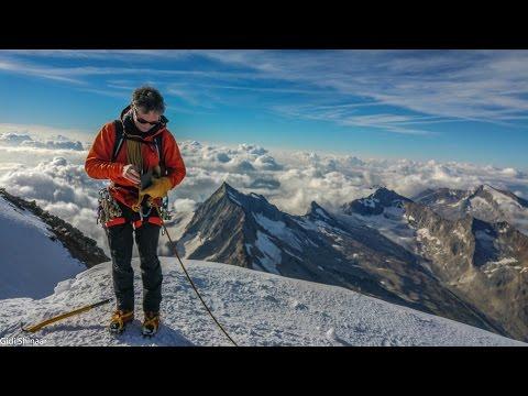 Mountaineering in the Alps (видео)