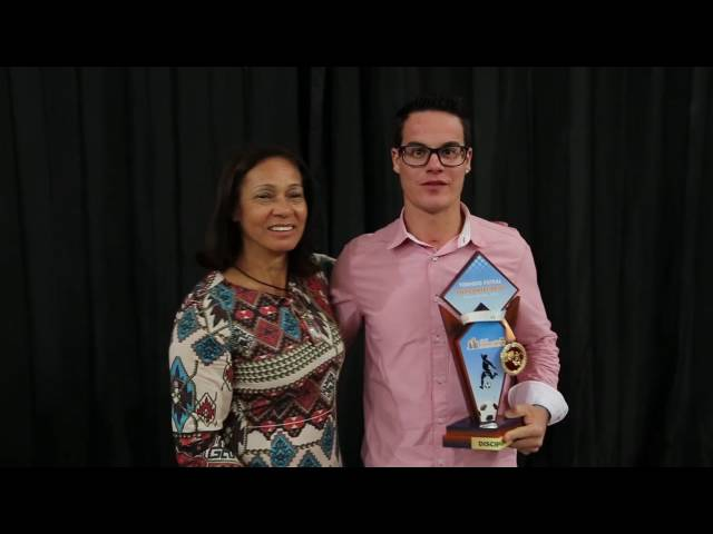 Premiação aos vencedores da Copa Sindicomerciários de Futsal 2016