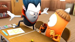 Spookiz   Don't Cross The Line !   Kids Cartoon   Funny Cartoon   WildBrain Cartoons Videos For Kids