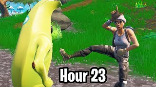 I played 24 hours worth of Fortnite Random Duos... and this is EVERYTHING that happened!