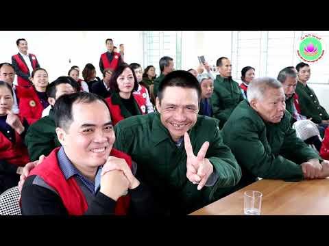 Chữ thập đỏ Tình Người trao quà Tết trung tâm thương binh Thái Bình ngày 7-1-2019