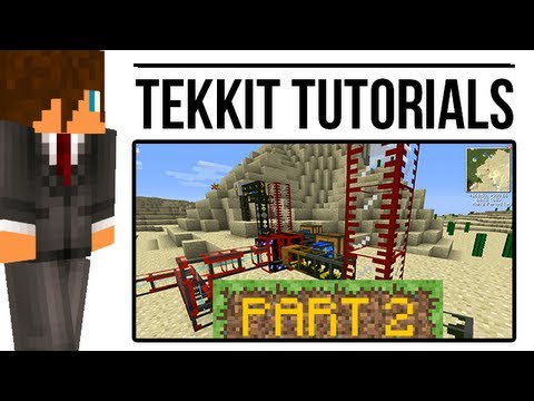 Tekkit Tutorial: Oil Refinery (BuildCraft)