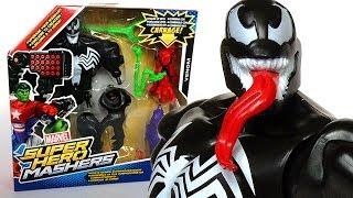 Marvel Super Hero Mashers VENOM Action Figure Review