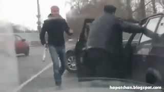 Őrült verekedős oroszok összenyúlnak