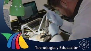 Científicos de la Facultad de Ciencias de la UNAM desarrollan un aparato llamado biosensor con el que pretenden medir los...