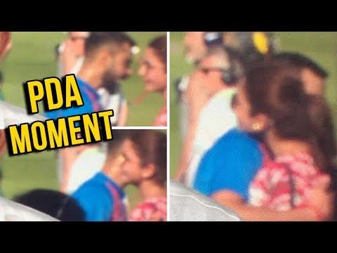 Anushka Sharma Passionately Hugs Husband Virat Koh
