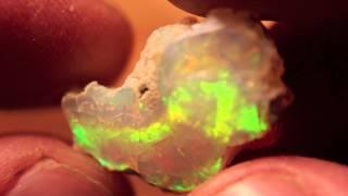 12.2ct Brilliant 5/5 Welo Ethiopia Specimen Opal